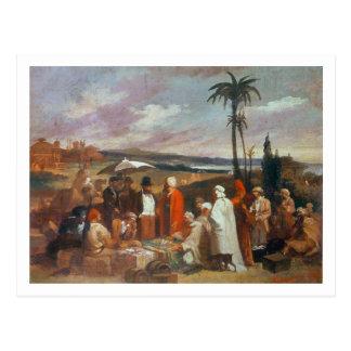 Oriental Merchants Postcard