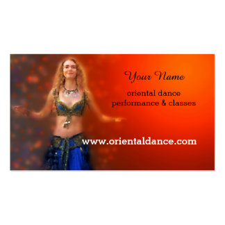 Oriental or Belly Dance Business Card