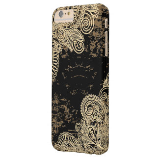 Oriental Ornamental Laces Pattern Barely There iPhone 6 Plus Case