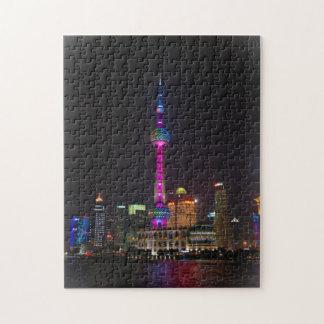 Oriental Pearl Tower - Shanghai, China Jigsaw Puzzle