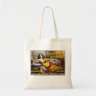 Oriental Perfume Paris France Canvas Bags