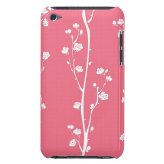 Oriental plum blossom pattern iPod Case-Mate cases