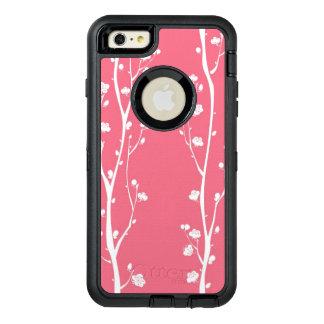 Oriental plum blossom pattern OtterBox iPhone 6/6s plus case