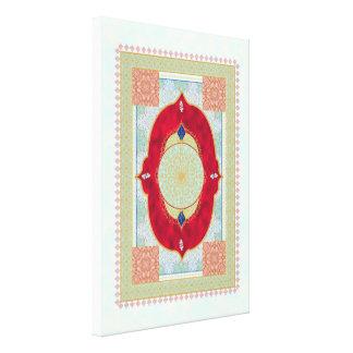 Oriental Rug - Canvas Print