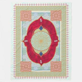 Oriental Rug - Fleece Blanket