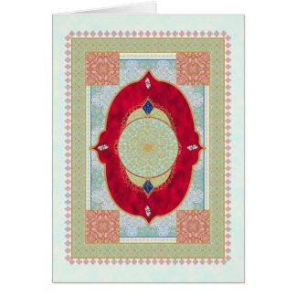 Oriental Rug - Greeting Card