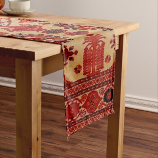 Oriental Rug Pattern Table Runner