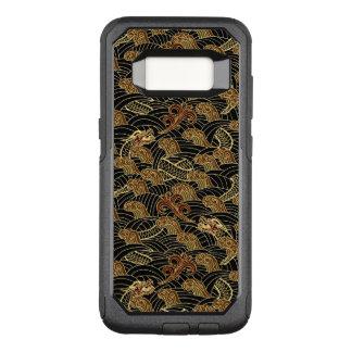 Oriental Sea Dragon Pattern OtterBox Commuter Samsung Galaxy S8 Case