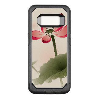 Oriental style Lotus OtterBox Commuter Samsung Galaxy S8 Case