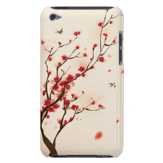 Oriental style painting, plum blossom in spring 2 iPod touch cover