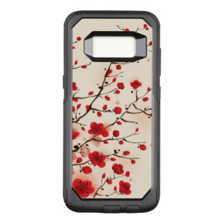 Oriental style painting, plum blossom in spring OtterBox commuter samsung galaxy s8 case