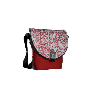 oriental tree branches bag messenger bags