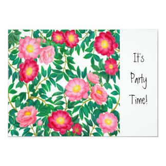 Oriental Tree Peonies Party Invitation
