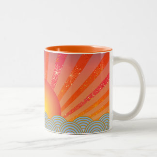 Oriental Two Tone Mug