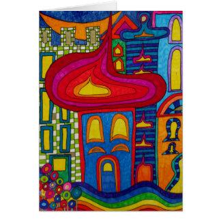 Oriental Village Card
