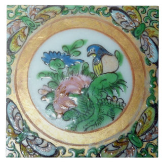 Oriental Vintage Design Feature Backsplash Tile