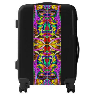 Oriental Watercolor Pattern III + your ideas Luggage