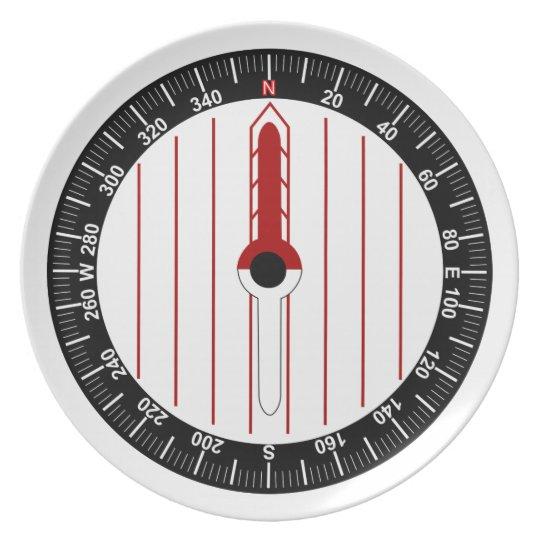 Orienteering Compass Plate