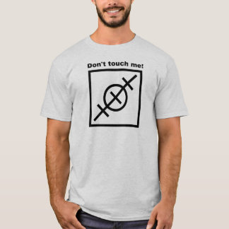 Orienteering T-shirt  -  Don't touch me!