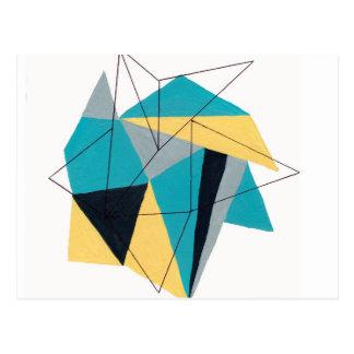 Origami 3 postcard