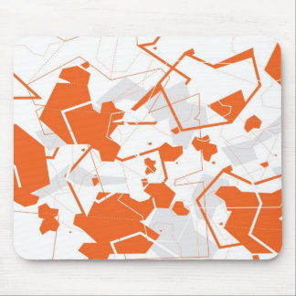 Origami Abstract Mousepad