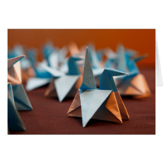 Origami Blank Note Card
