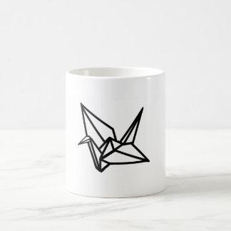Origami Crane Design Mug Stylish