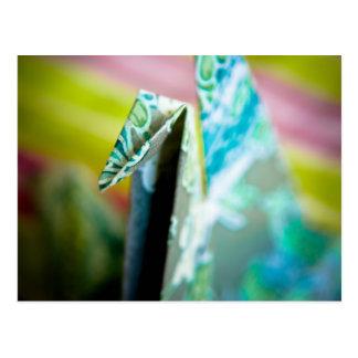 Origami Crane • Postcard