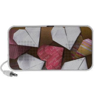 Origami Hearts Portable Speaker