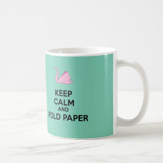 Origami lover! coffee mug