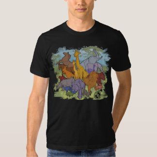 Origami Menagerie T Shirts