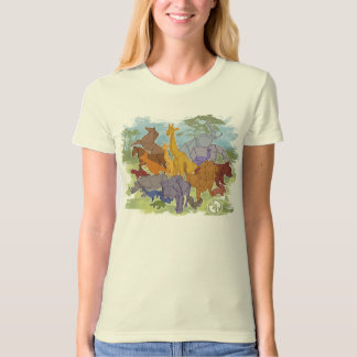Origami Menagerie T-shirts