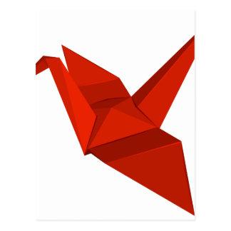 Origami Postcard