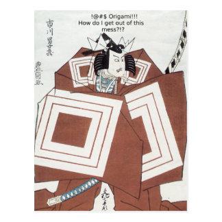 !@#$ Origami!!! Postcard