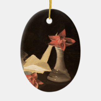 Origami Still Life Ceramic Ornament