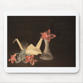 Origami Still Life Mouse Pad