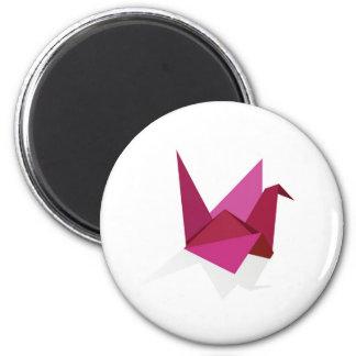origami swan refrigerator magnets