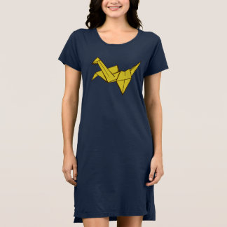 Origami t-shirt dress
