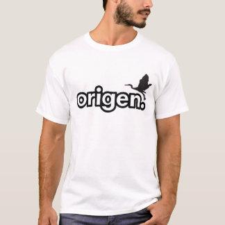 Origen Plain Logo White Tee