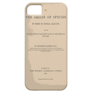 Origin of Species by Means of Natural Selection iPhone 5/5S Covers