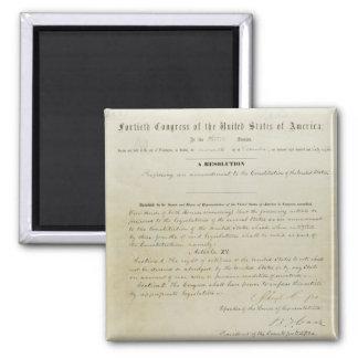 ORIGINAL 15th Amendment U.S. Constitution Fridge Magnets