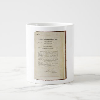 ORIGINAL 17th Amendment U.S. Constitution Jumbo Mug