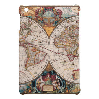 Original 17th Century World-Map latin 1600s iPad Mini Cover