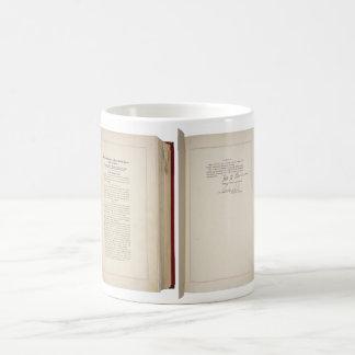 ORIGINAL 20th Amendment U.S. Constitution Coffee Mugs
