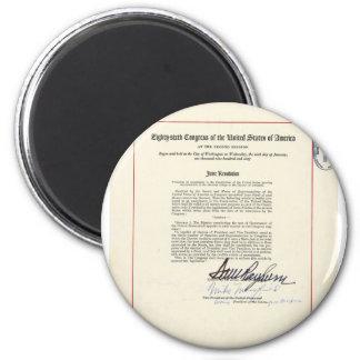 ORIGINAL 23rd Amendment U S Constitution Refrigerator Magnets