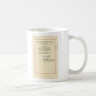 ORIGINAL 26th Amendment U.S. Constitution Basic White Mug
