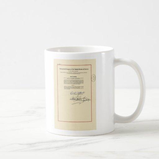 ORIGINAL 26th Amendment U.S. Constitution Mug
