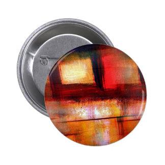 Original Abstract Art 6 Cm Round Badge