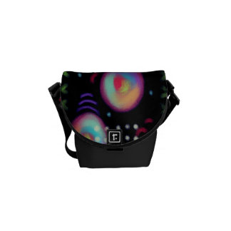 Original Abstract Art Handbag Commuter Bag