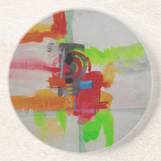 Original Abstract Artwork Coaster